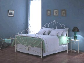 clare iron bed