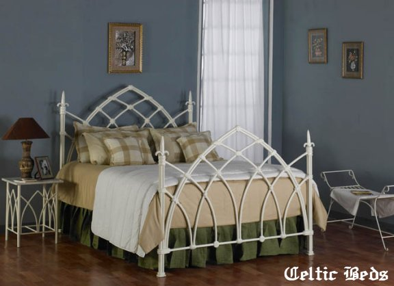 iron gothic bed