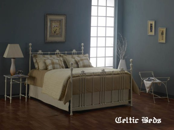white iron bed kenmare